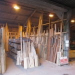 kiln dried shed timber rack